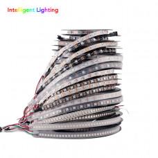 Большой выбор адресных светодиодных лент с чёрной или белой основой и питанием 5 Вольт