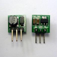 Миниатюрный повышающий преобразователь dc-dc  с 0.8 - 4.2 до 5 Вольт